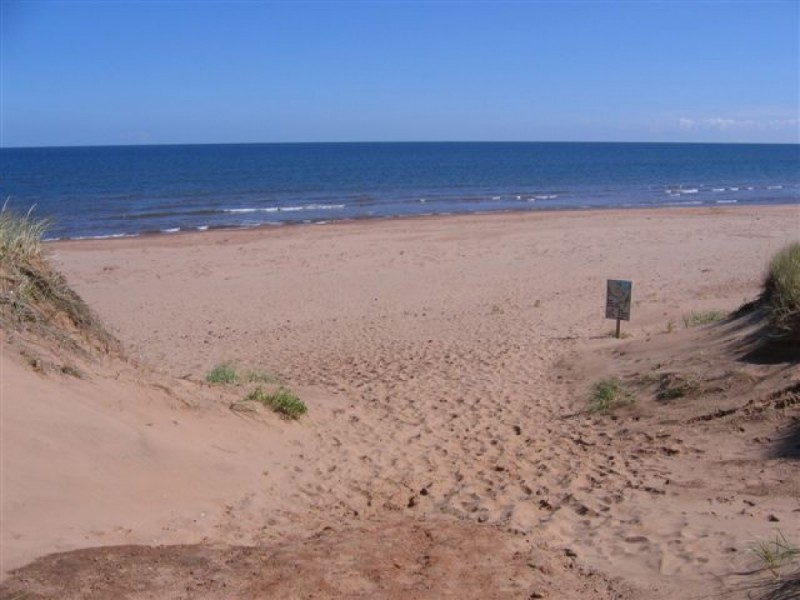 Cavendish PEI Beach